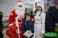 "Дед Мороз и Снегурочка в магазинах ""Моя Родня"""
