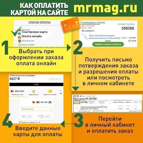 Как оплатить картой на сайте